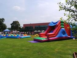 Bouncy castle at Crowne Plaza Marlow