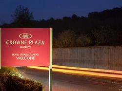 Hotel Welcome Sign