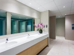 Quad Club & spa changing rooms