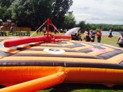 Team building games at Crowne Plaza Marlow