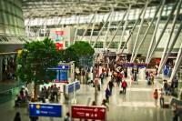 airport, departure