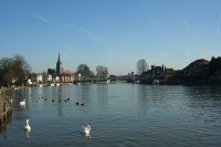 Marlow town
