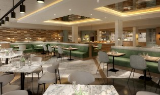 Newly Refurbished Marlow Glaze Restaurant