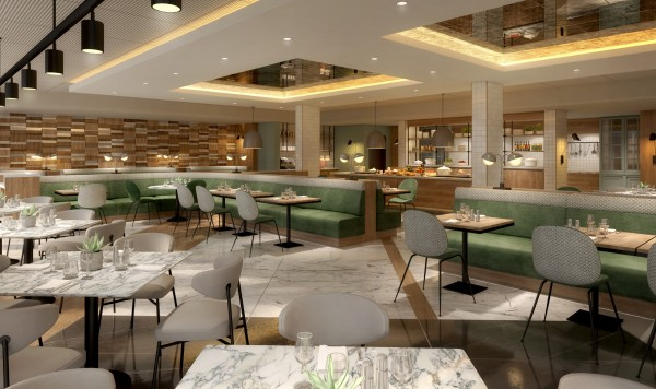 Newly Refurbished Glaze Restaurant