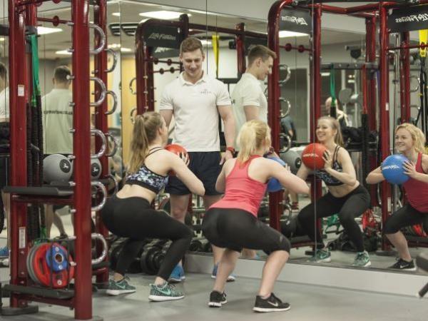 Quad Club group training