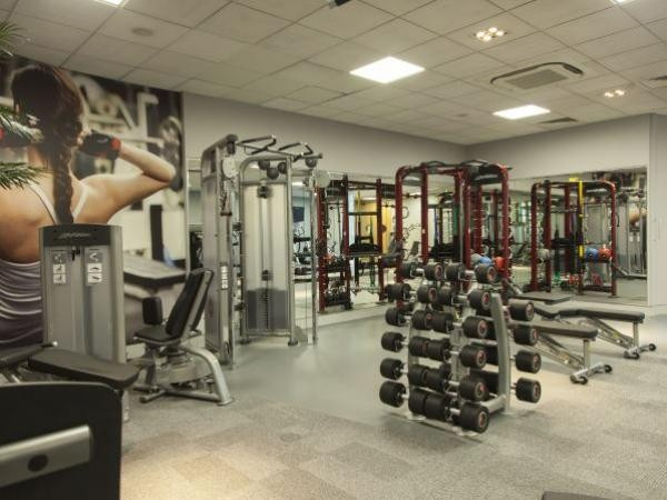 Quad Club Weights Area