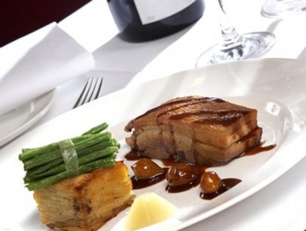 Restaurant meal